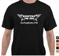 Black ZooTapRadio Tee Shirt Large